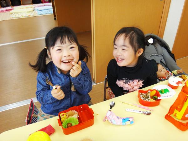 児童発達支援まめぴよ/まめベビィ キッズサポート kids support 昼食